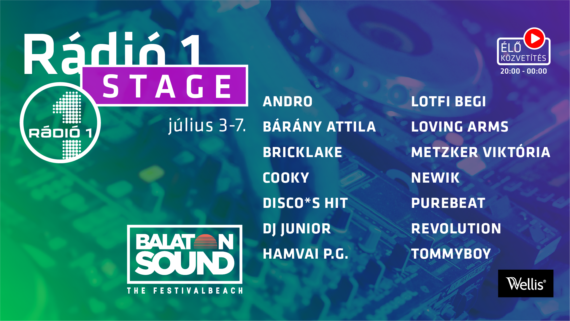 Rádió 1 Balatonsound 2019