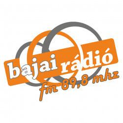 Bajai Rádió logo