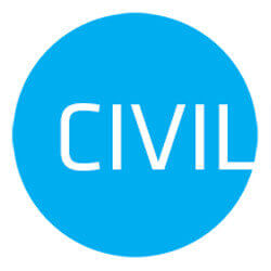 Civil Rádió logo