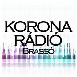 Korona Rádió Brassó logo